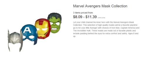 AvengersMasks